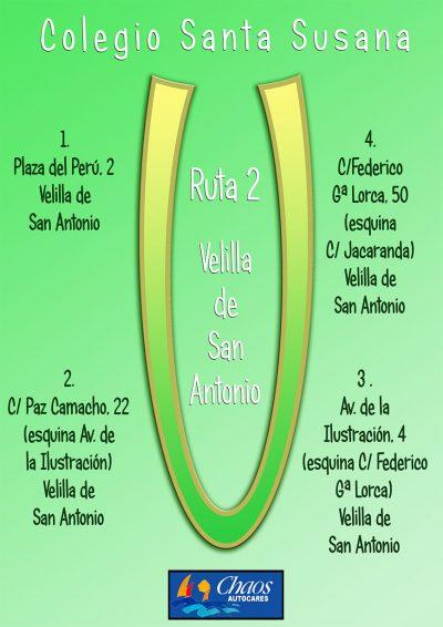 Ruta Escolar Velilla Santa Susana